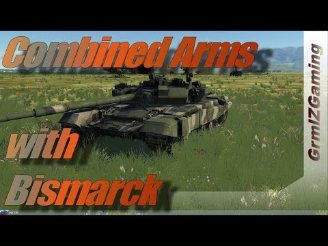 DCS - Combined Arms CO-OP Mission with Bismarck