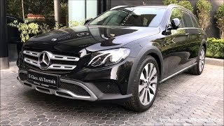 Mercedes-Benz E 220d 4Matic All Terrain 2019 | Real-life review