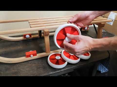 Roll Rodel Bausatz Montage