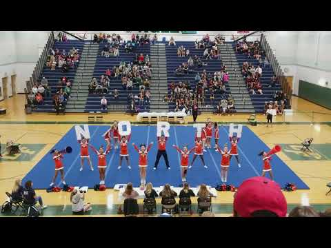 North Stafford High School at Commonwealth District Cheer Competition 2017