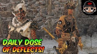 Daily Dose of Deflects - Shaolin and Berserker For Honor Montage