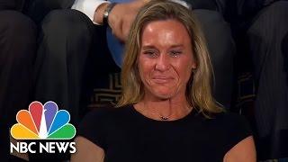 President Trump Honors Widow Of Fallen Navy SEAL William