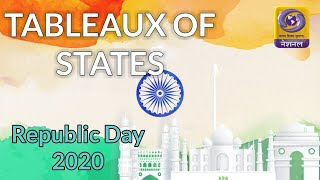 Tableaux  of the states at the Republic Day Parade 2020