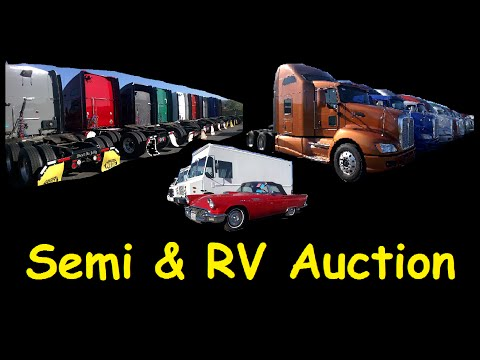 Wholesale RV Semi Heavy Equipment & Specialty Auction