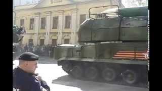после парада победы 2015г. на Воздвиженке .