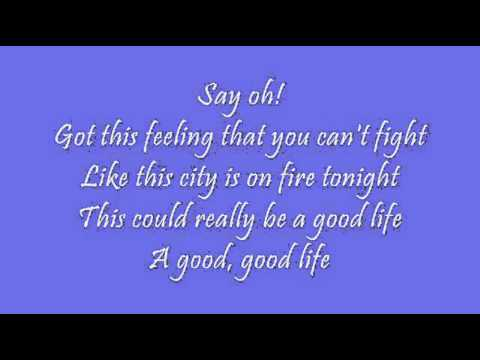 OneRepublic   Good Life NEW SONG 2011 Lyrics   YouTube
