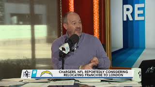 The Voice of REason: Rich Eisen Reacts to a Possible Chargers Move to London | 11/5/19