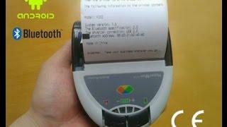 Блютус термопринтер - Bluetooth thermal Printer(, 2015-02-19T21:14:27.000Z)