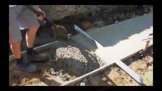 #9 Budowa Domu - Układanie chudego betonu