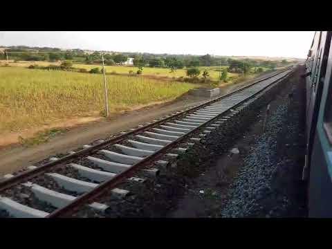 Hotgi Gadag Doubling Progress   Hotgi-Kudgi Section Part 3   Stretch between Indi Road and Nimbal