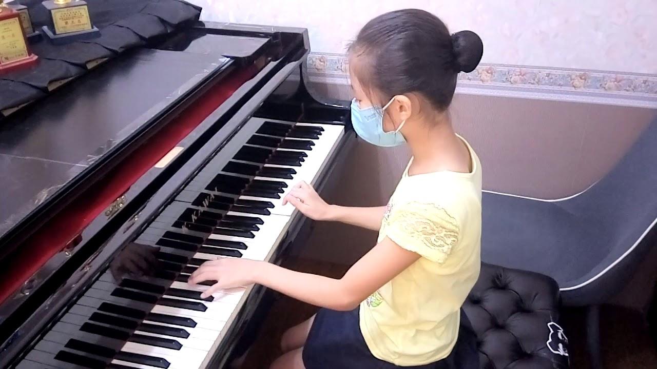 河合鋼琴第7級檢定 指定曲第十三首 苡晴 - YouTube