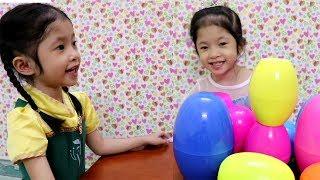 Elsa Anna Mở Trứng Chứa Nhiều Đồ Chơi Bất Ngờ Blind Bags - SURPRISE EGGS FINDING DORY, LEGO FRIENDS