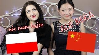 UCZĘ CHINKĘ POLSKIEGO! CHINESE SPEAKS POLISH