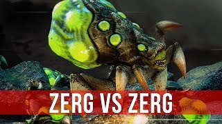 StarCraft 2 Coaching: Zerg vs Zerg in Gold League!