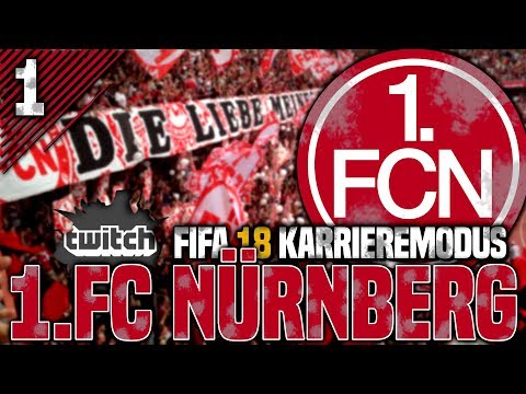 Willkommen beim 1. FC Nürnberg! Neue Livestream Karriere! | FIFA 18 Karrieremodus #1 (Livestream)