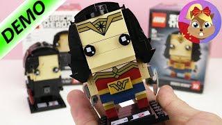 乐高Lego 方头仔 神奇女侠 BrickHeadz 超级英雄积木