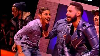 "Rachid Show - Parodie: Shekini, P square ""حك ليلي نيفي"" Version Rachid show"