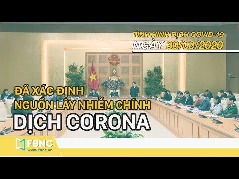 Tin tức dịch Corona mới nhất ngày 30 tháng 3,2020 | Cập nhật dịch Covid 19