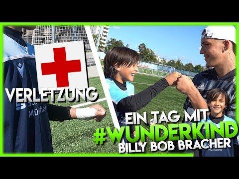 Ein Tag Mit #WUNDERKIND Billy Bob Bracher Und Er VERLETZT Sich!