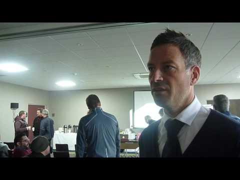 EIHAtv: Mark Clattenburg at referee's development seminar
