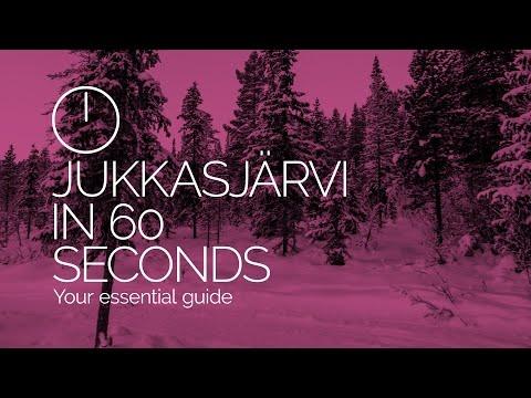 Jukkasjärvi in 60 seconds