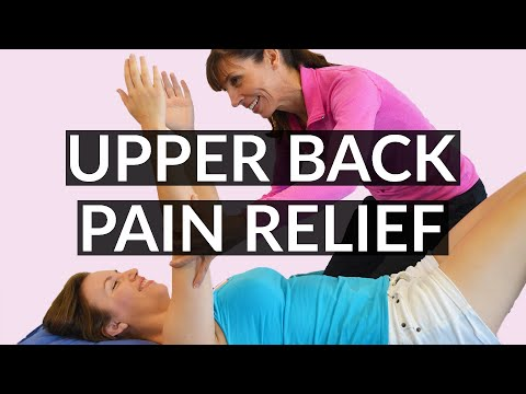 Physical Therapist Upper Back Stretches that Relieve Pain and Stiffness (Part 1)