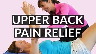 Physiotherapist Upper Back Stretches Relieve Pain & Stiffness - Part 1
