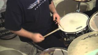 One Little Victory intro, drums only - Semi Instructional