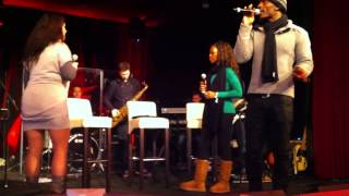 Project Soul warm ups - FANTASY - EARTH WIND and FIRE (Live Band Cover) - Ron Jackson