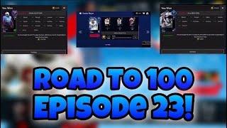 Road to 100 Episode 23! 2 100 Defensive Pickups!