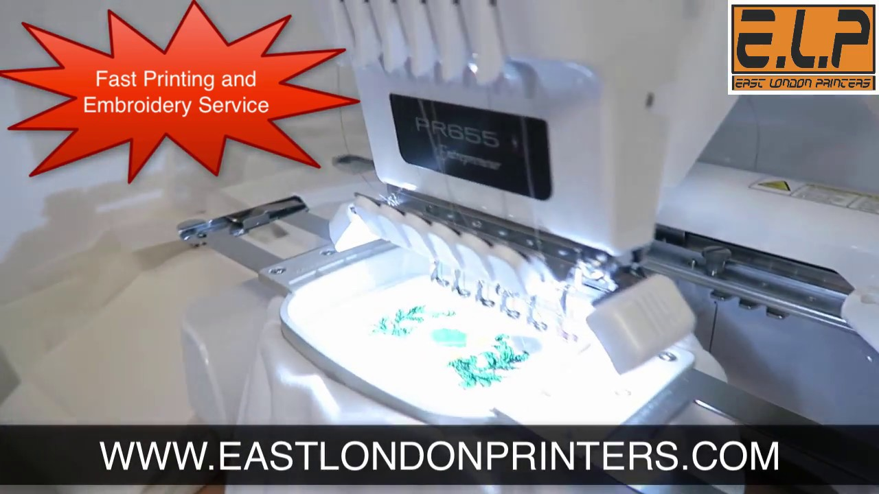 T Shirt Printing London Last Minute Emergency Service Embroidery