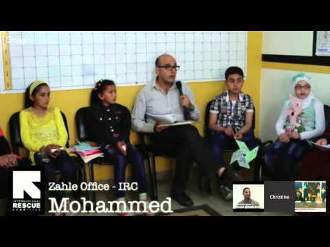 Live from Lebanon: SR Healing Classrooms Challenge Webcast
