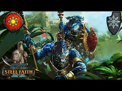 ETERNITY WARDENS and ALBINO KROXIGORS - Trials of Tzeentch SFO - Total War Warhammer 2 |
