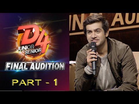 D4 Junior Vs Senior I Final Audition - Part 1 I Mazhavil Manorama