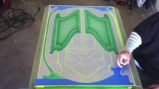 KANDY N CHROME CUSTOM PAINT PATTERN PANEL TIME LAPSE