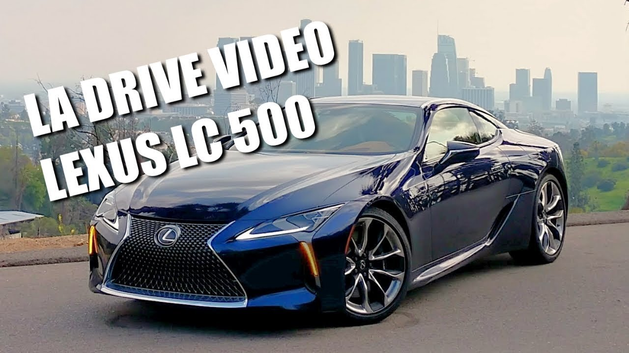 Lexus lc video