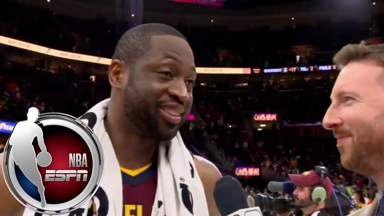 Dwyane Wade says Isaiah Thomas gives Cavs a 'jolt' | ESPN