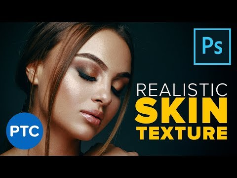 Create A Highly Realistic SKIN TEXTURE In Photoshop! [90-Second Tip #15]