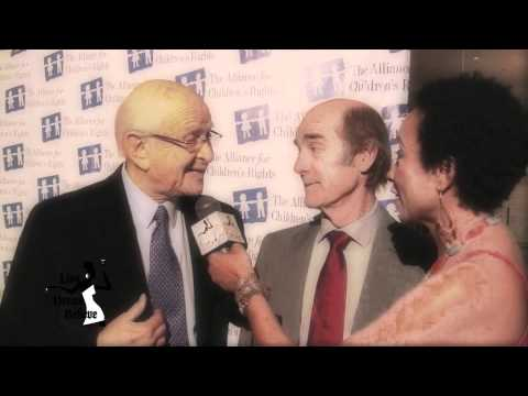 Skip Brittenham & Norman Lear - Alliance for Children's Rights Gala