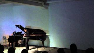 """Variation on Berio Sequenza"" (Dohi) at Tokyo Experimental Festival (2013)"
