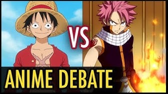 One Piece VS Fairy Tail: Which is Better? (Anime Debate)