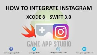 Learn how to integrate Instagram into your App using Xcode