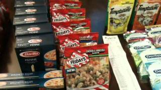 PUBLIX GROCERY HAUL 11/3(11. 91 oop Total savings $$112.34 for 45 Items. Great publix savings!!! Coupons used: 1/2 Barrilla Pasta SS 9/18, TGI Friday (publix yellow advantage coupon ..., 2011-11-04T00:34:44.000Z)