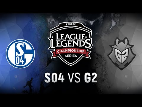 S04 vs. G2 | Final | EU LCS Regional Qualifier Game 4 | FC Schalke 04 vs. G2 Esports (2018)