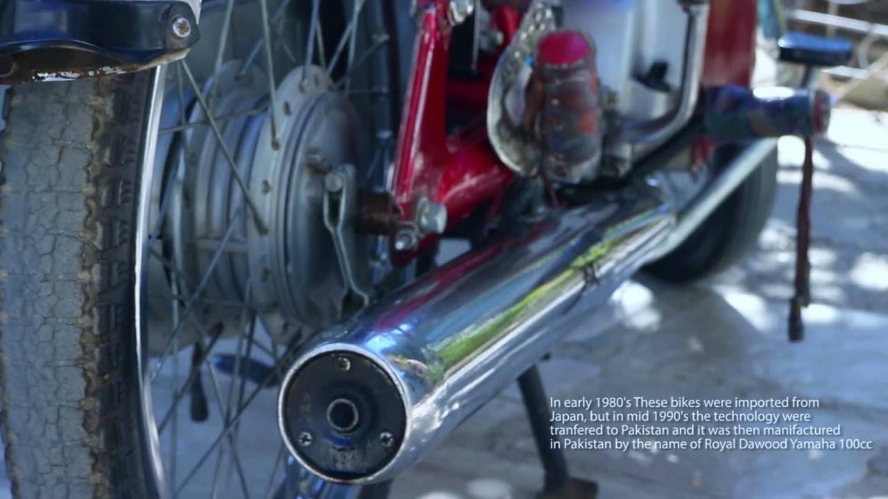 Yamaha 1989 Deluxe Yb100cc 2 Stroke Bike Youtube