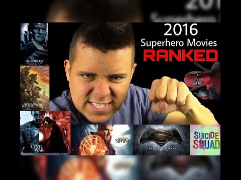 2016 Comic Book Films RANKED: Worst to Best