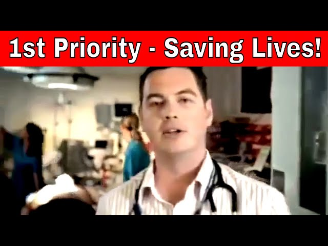 First Priority - Saving Lives