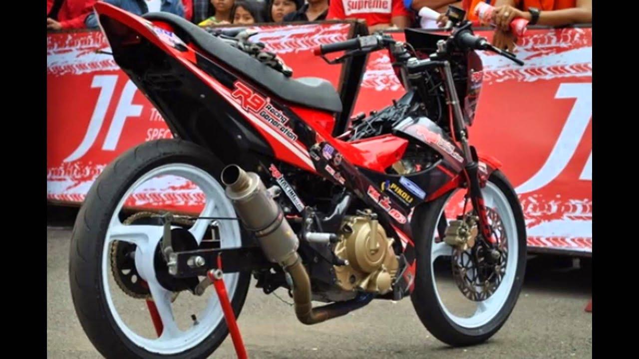 Modif Satria FU untuk Road Race Balap Liar