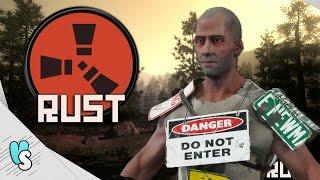 RUST Indonesia #3 - Hancurin Rumah Orang !! (Momen Kocak Survival Game)
