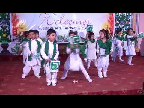 Dil Dil Pakistan ! Beautiful Stage Performance By Kids
